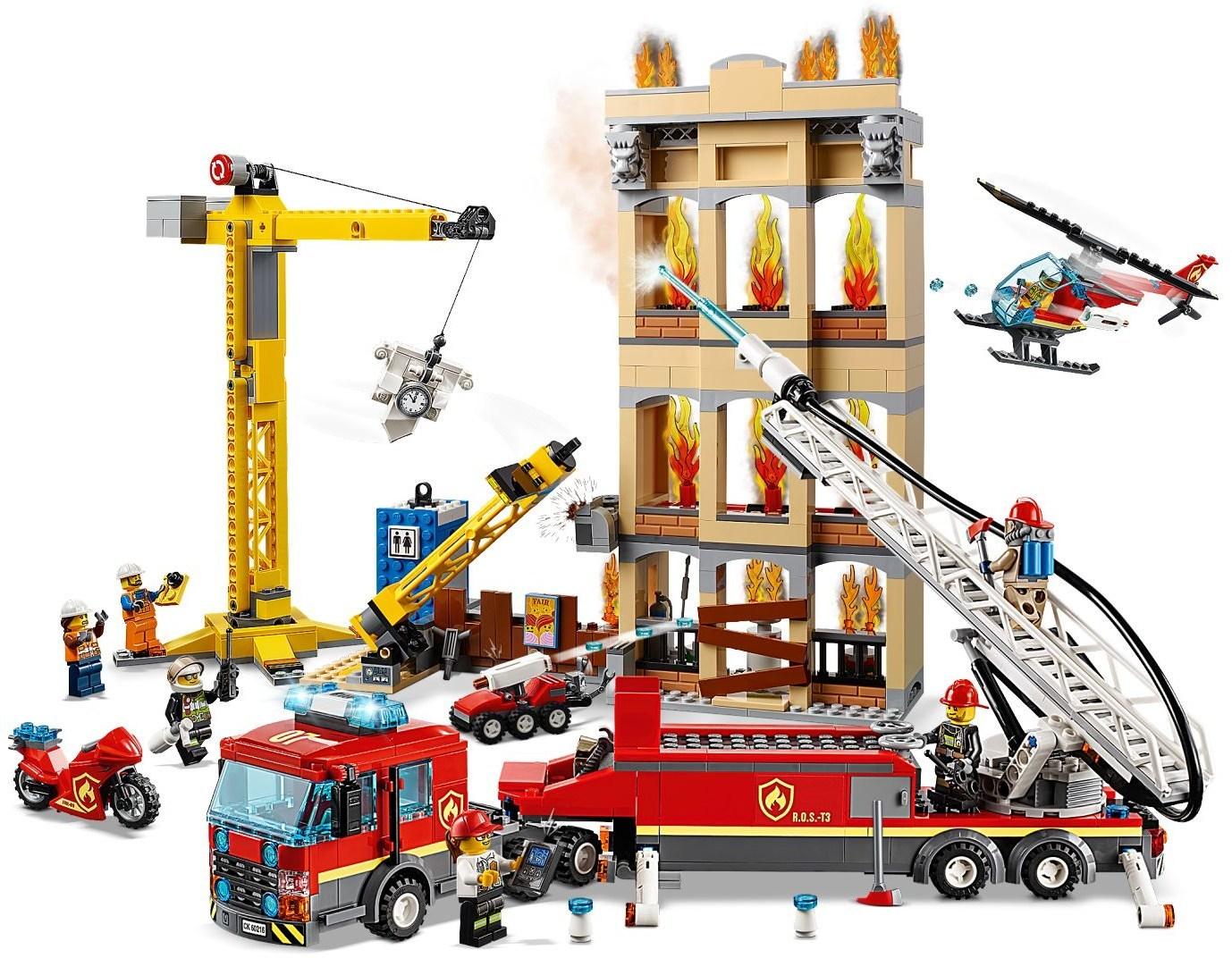 уже лего сити пожарная машина картинки готова моя очередная