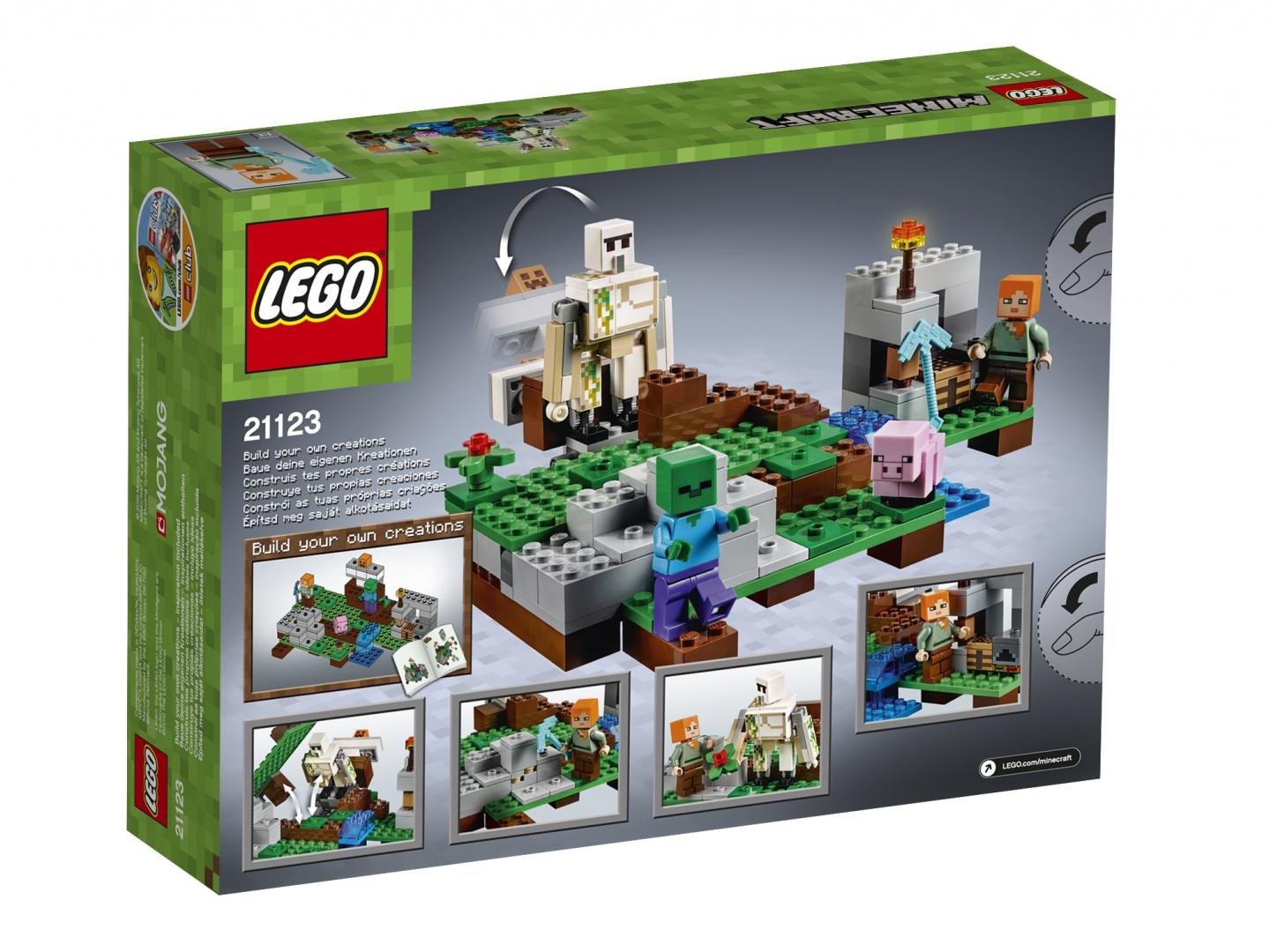 Lego Minecraft привет из детства с привкусом майнкрафта 57