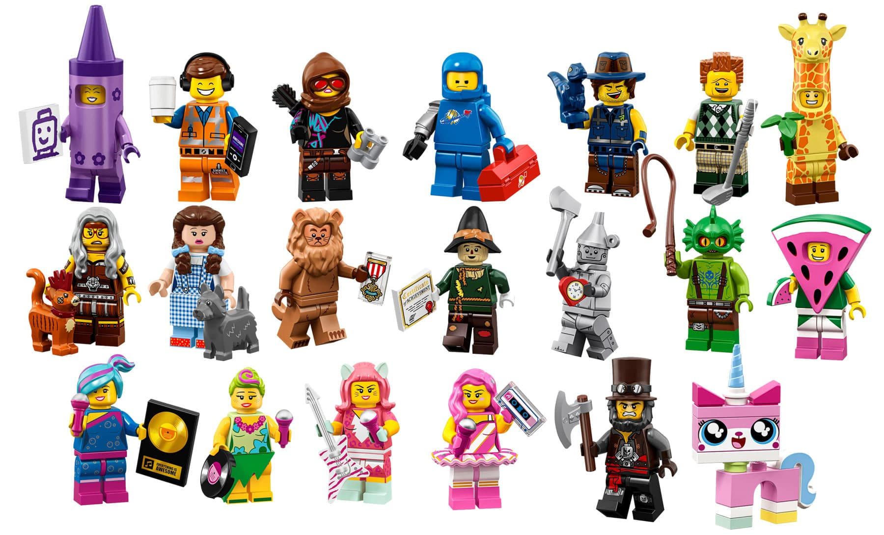 lego minifigures series 2 - HD 1600×968